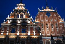 Pic of the day – Riga at night